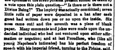 From the Guardian, 1856.