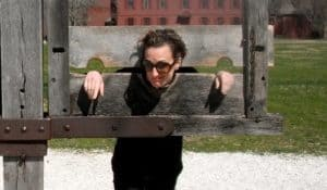 Mary in the Stocks.