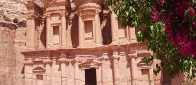 Al Dayr (the monastery) at Petra awaits those pilgrims who climb 800 steps, either on foot or via donkey.