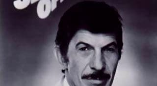 """Leonard Nimoy as host of the TV series """"In Search Of..."""""""