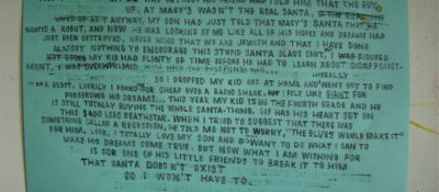Text painting by David Kramer. Click to enlarge and read.