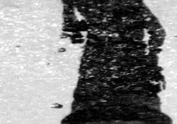 Reflection of the Angel Caido in Madrid, based on the fallen angel in Milton's <em>Paradise Lost</em>