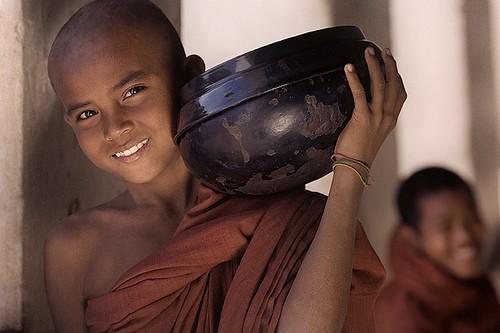 Buddhist boy in Burma photo by photsadhu on Flickr