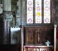 Behind the Pulpit