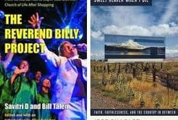 The Reverend Billy Project and Jeff's new book.