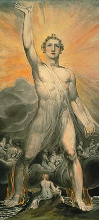 """The Angel of the Revelation,"" William Blake"