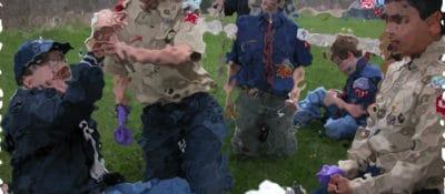 Blurry Cub Scouts