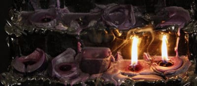 """""""St. Moiras Candle IV,"""" by Andrew Cornell Robinson."""