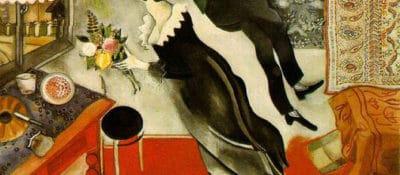"Marc Chagall, ""The Birthday"""