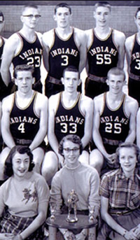 """The 1954 Milan Indians: """"the real Hoosiers"""""""