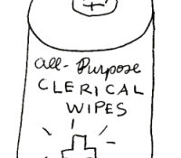 Clerical Wipes