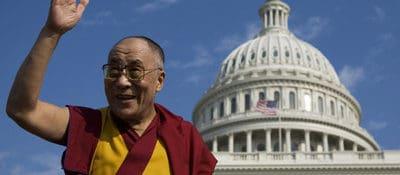 Dalai Lama in Washington.