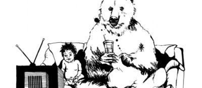 """Heart of a Bear, TV"" by Danica, 2009."