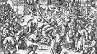 Bruegel on the Feast of Fools.