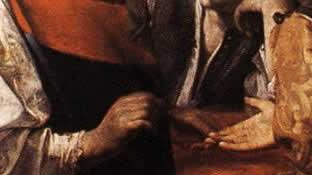 The Fortune Teller (detail), 1628