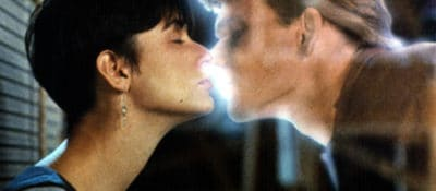 """Still from the movie """"Ghost,"""" with Demi Moore and Patrick Swayze (1990)."""