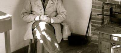 Richard Smith as Henry David Thoreau. Photograph by Maria Lewis.