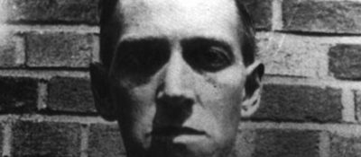 H. P. Lovecraft. Image from The Los Angeles Times archives.
