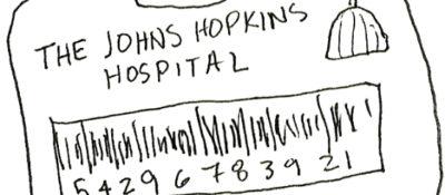 Johns Hopkins ID tag