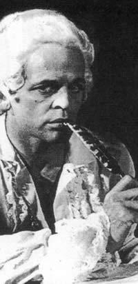 "Klaus Kinski in ""Marquis de Sade: Justine"""
