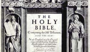 The Holy Bible, King James style.