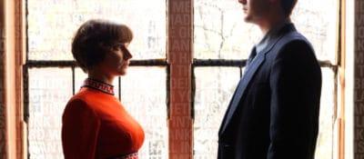 "Mellissa Hughes and Matt Marks on the ""The Little Death: Vol. 1"" album cover."