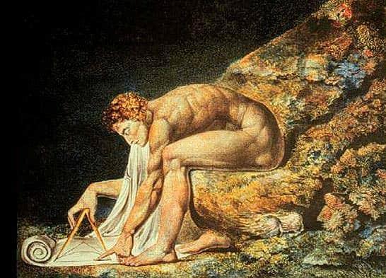 Newton by Willia  m Blake