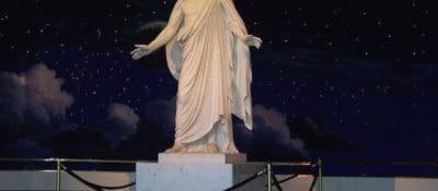 """""""Christus Statue in Visitors Center on Temple Square"""" by benmckune, via Flickr."""