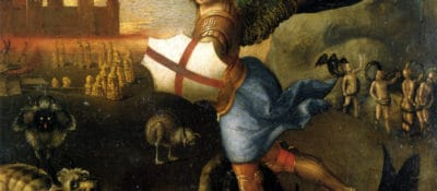 Raphael, Saint Michael and the Dragon, c. 1503 - 1505
