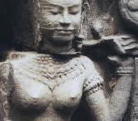 Temple at Ta Prohm (detail)