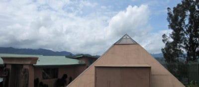 Pyramid in Costa Rica