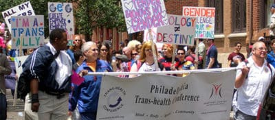 From the 2011 Philadelphia Trans-Health Conference. Photo from the Philly Broadcaster.